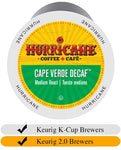 Hurricane Cape Verde Decaf Coffee Cups (24) | Beanwise