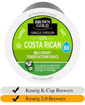 Brown Gold Costa Rican Coffee K-Cups (24) | Beanwise