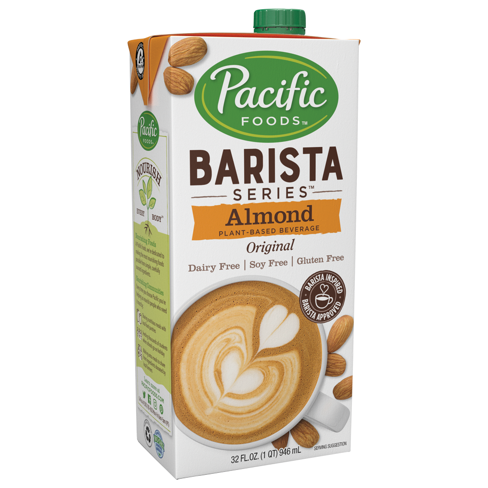 Pacific Foods Barista Series Almond Beverage (946ml)
