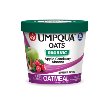 Umpqua Oats Organic Apple Cranberry Almond