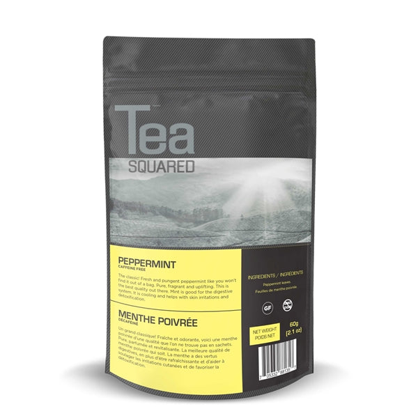 Tea Squared Peppermint Loose Leaf Tea (60g) | Beanwise