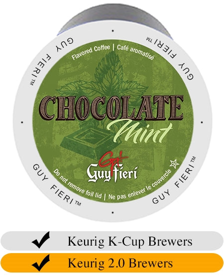 Guy Fieri Chocolate Mint Coffee Cups (24) | Beanwise