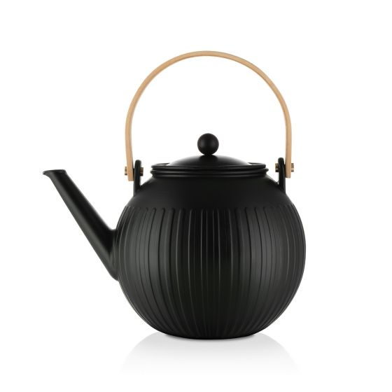 Bodum Douro Porcelain Tea Press 51oz (Black)