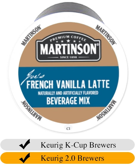 Martinson French Vanilla Latte K Cups (24) | Beanwise