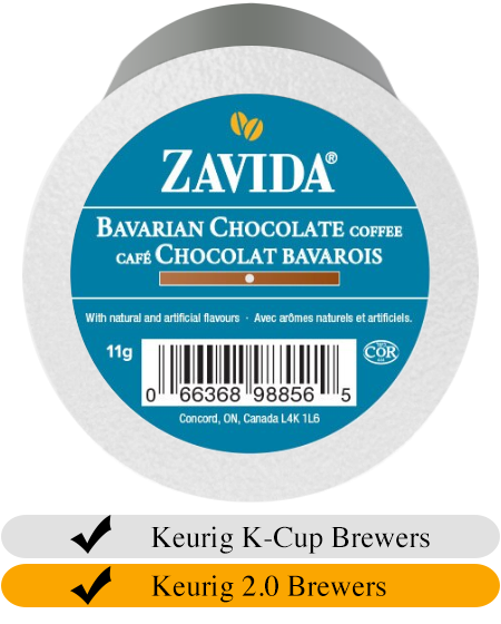 Zavida Bavarian Chocolate Coffee Cups (24) | Beanwise