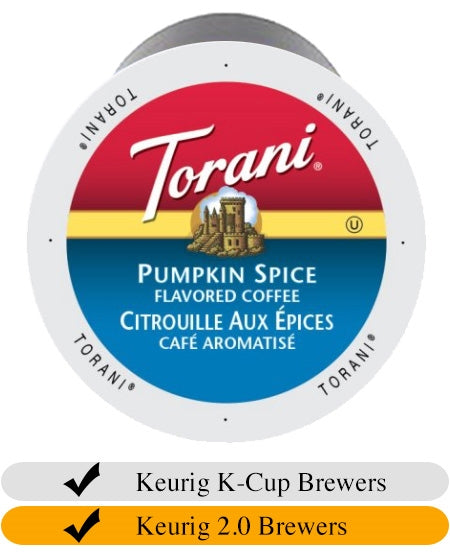 Torani Pumpkin Spice Coffee Cups x 24