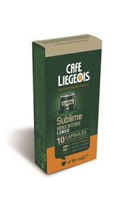 Cafe Liegeois Sublime Capsules for Nespresso (10) | Beanwise