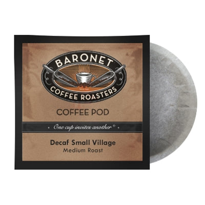 Baronet FTO Decaf Small Village 18 Pods | Beanwise