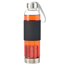 Grosche Marino Tea Infuser Bottle (Black) | Beanwise