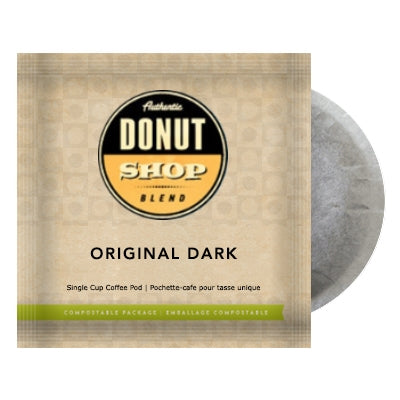 Donut Shop Blend Original DARK 16 - 100% Compostable Pods