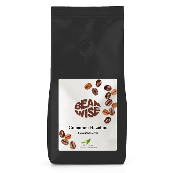 Cinnamon Hazelnut Flavoured Coffee Beans | Beanwise