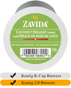 Zavida Coconut Delight Coffee Cups (24)