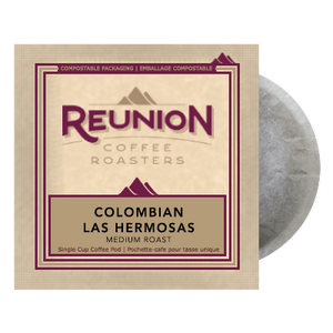 Reunion Island Colombia Las Hermosas (16) - 100% Compostable Pods | Beanwise