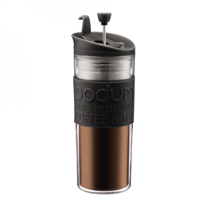 Bodum Travel Press 15oz (Black) | Beanwise