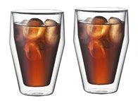 Bodum Titlis Double Wall Glasses 11oz x 2 Glasses | Beanwise