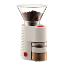 Bodum Bistro Electric Coffee Grinder (Off White) | Beanwise