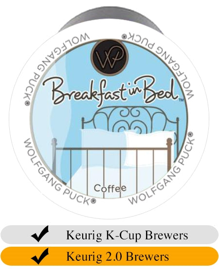 Wolfgang Puck Breakfast in Bed Keurig Cups (24) | Beanwise
