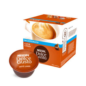Dolce Gusto DECAF Caffe Lungo x 16 | Beanwise