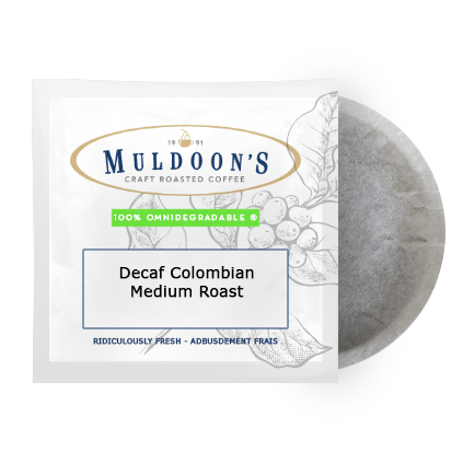 Muldoon's Decaf Colomobian Pods (12)
