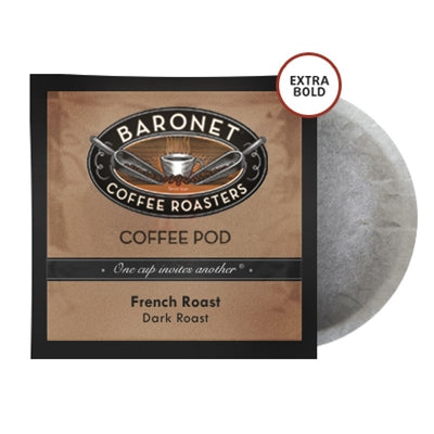 Baronet Extra Bold French Roast Pods (12g)
