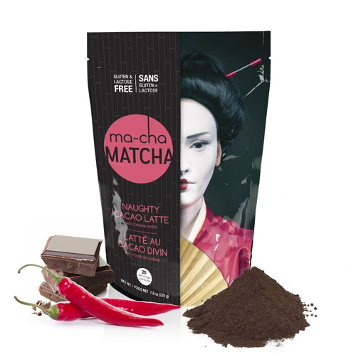 Ma-cha Naughty Cacao Latte (225g) | Beanwise