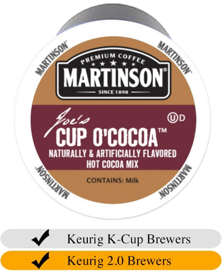 Martinson Cup O'Cocoa Hot Chocolate Mix Cups (24) | Beanwise