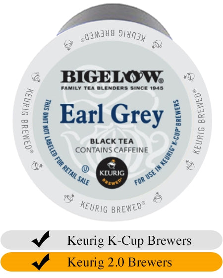 Bigelow Earl Grey Tea K-Cups (24) | Beanwise