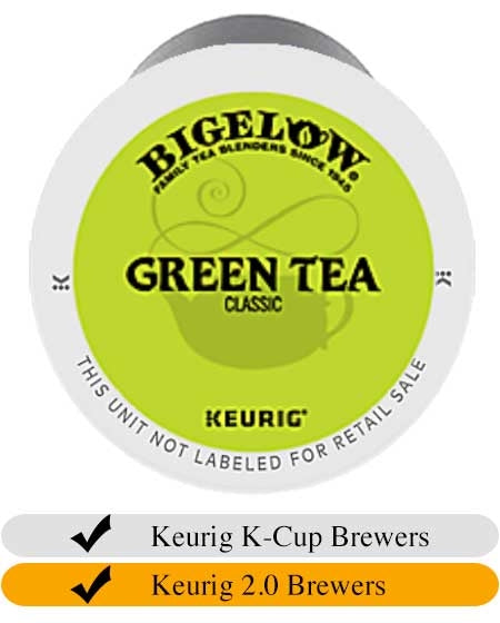 Bigelow Green Tea K-Cup® Pods (24) | Beanwise