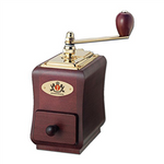 Zassenhaus Coffee Grinder - Santiago (Mahogany stained) | Beanwise
