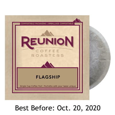 Reunion Coffee Flagship (16) - 100% Compostable Pods SALE