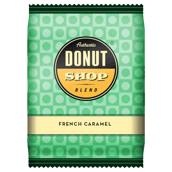 Donut Shop Blend French Caramel Cream Coffee (2.5oz)