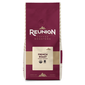 Reunion Coffee Roasters French Roast FTO Coffee Beans