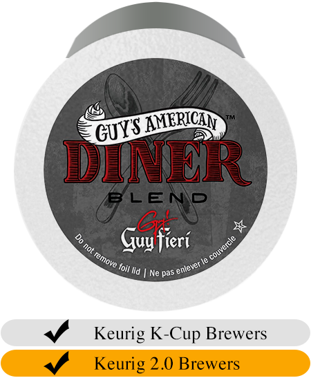 Guy Fieri American Diner Blend Coffee Cups (24)