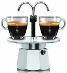 Bialetti 2 Cup Mini Express Stove Top Espresso Maker