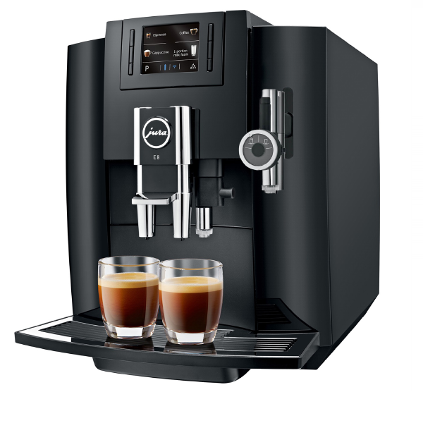 Jura E8 Espresso Machine (Piano Black)