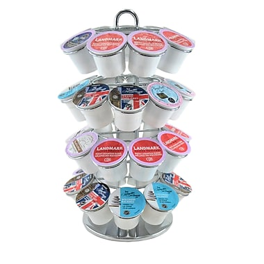 oneBREW Coffee Pod Carousel (Chrome)