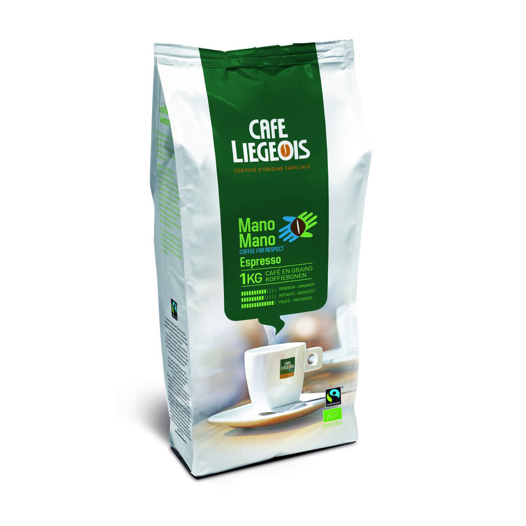 Cafe Liegeois Mano Coffee Beans
