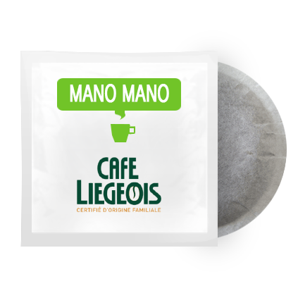 Cafe Liegeois Mano Mano ESE Pods (25) | Beanwise