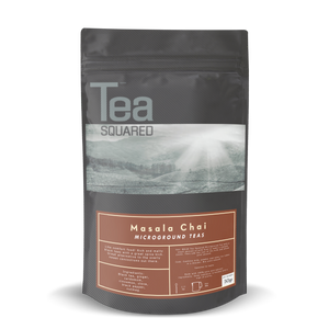 Tea Squared Masala Chai Micro-Ground Tea Latte