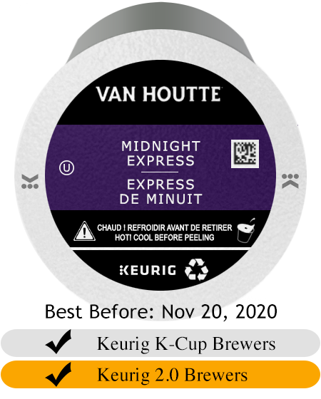 Van Houtte Midnight Express K-Cup® Pods (24) Sale