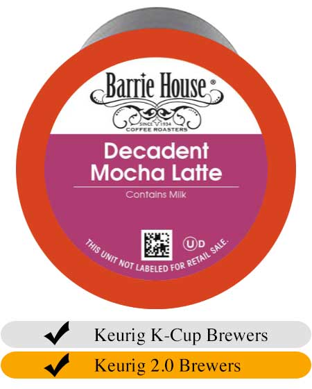 Barrie House Decadent Mocha Latte Cups (24)