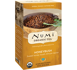 Numi Organic Honeybush Tea Bags (18)