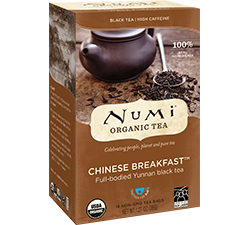 Numi Organic Chinese Breakfast Tea Bags (18)