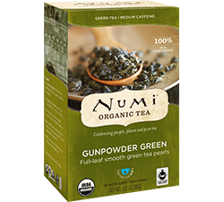 Numi Organic Gunpowder Green Tea Bags (18)