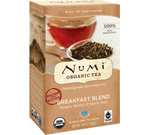 Numi Organic Breakfast Blend Tea Bags (18)