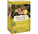 Numi Organic Ginger Lemon Tea Bags (16)