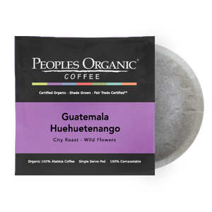 Peoples Organic Guatemala Huehuetenango Coffee Pods (12)