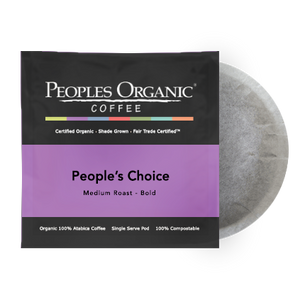 Peoples Organic People's Choice Coffee Pods (12)