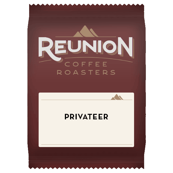 Reunion Coffee Roasters Privateer Coffee (2.5oz)