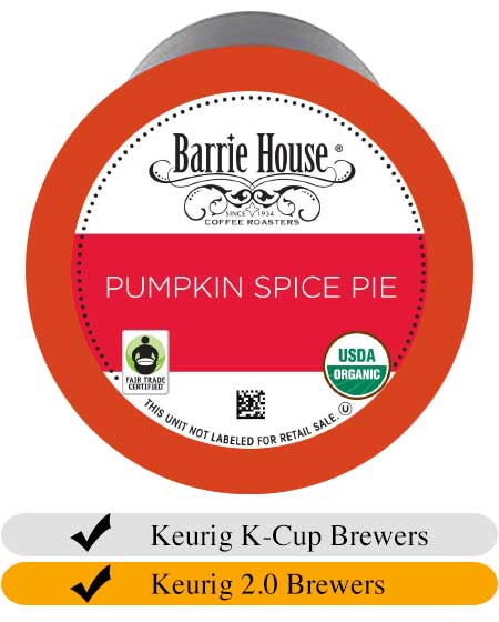 Barrie House Pumpkin Spice Pie Coffee Cups (24)